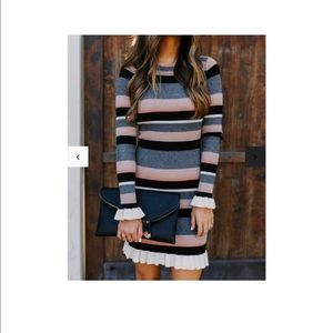 Vicidolls knit sweater dress